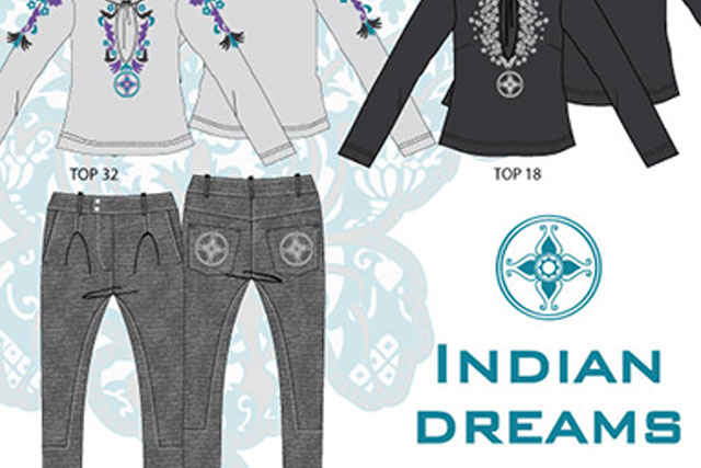 Indian dreams Woman's fashion
