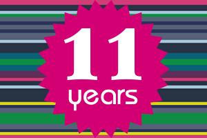 11 jaar Pink Studio
