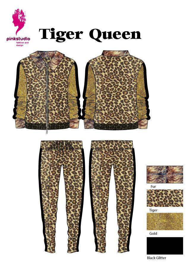 Carnavals-tiger-queen