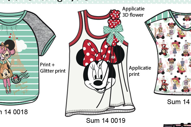 Minnie Mouse summer girls collection