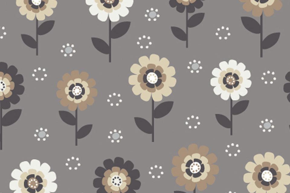 Flower dot fabrics