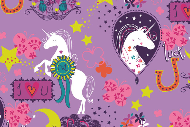 Unicorn theme prints