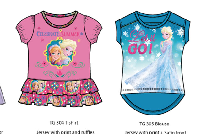 Frozen summer collection Girls