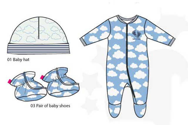 New born baby summer collection