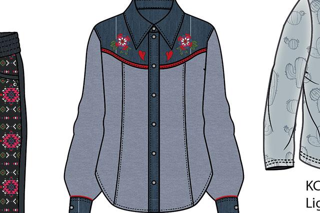 Kitsch Cowboy Kids girls winter collection w17/18