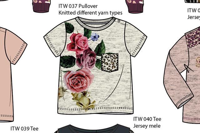 INTO THE WILD Kids girls collection w17/18