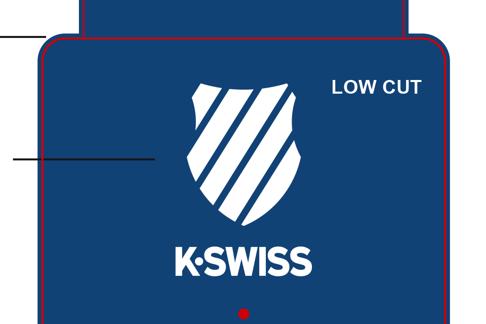 K-Swiss packaging