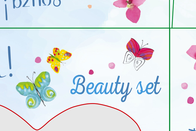 Verpakkingen kinder make-up setjes