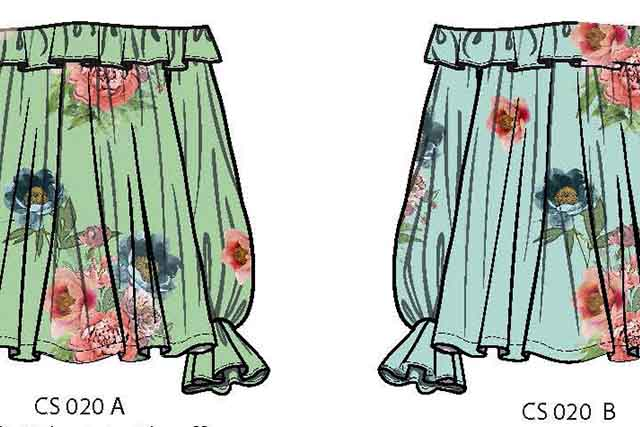 Womenswear flower