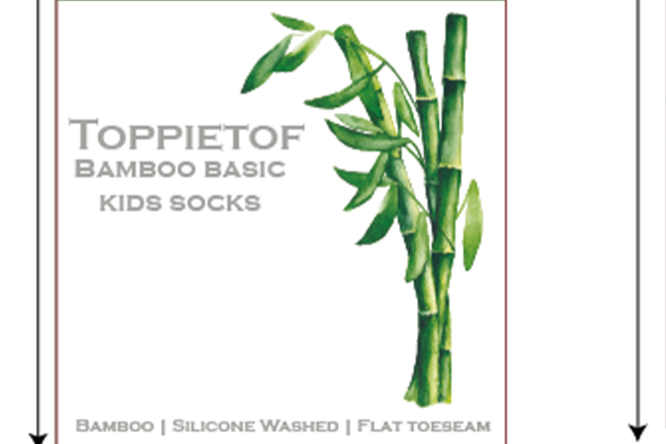 Labeling Bamboo socks