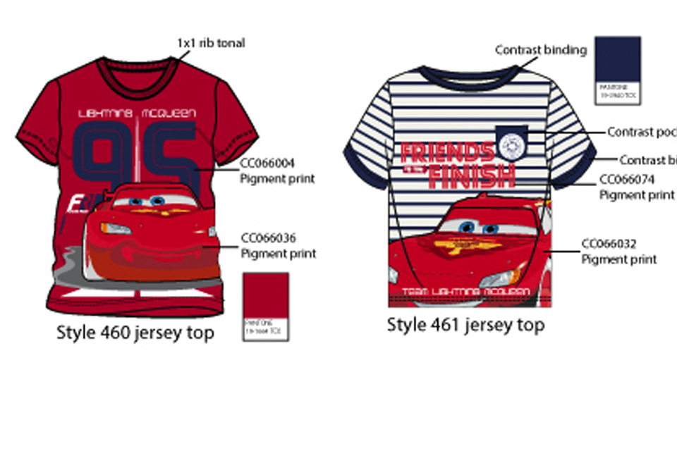 Cars Disney Boys collection