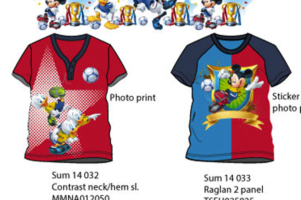 Mickey mouse Goal collection