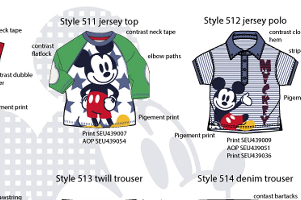 Licensie summer for kids Disney Mickey Mouse baby