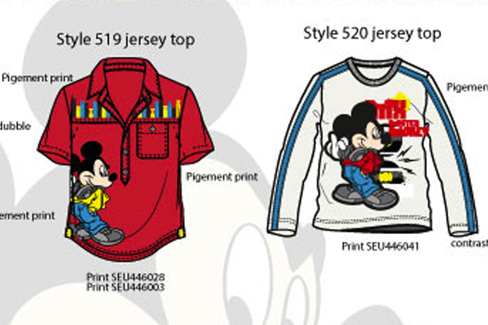 Licensie summer for kids Disney Mickey Mouse