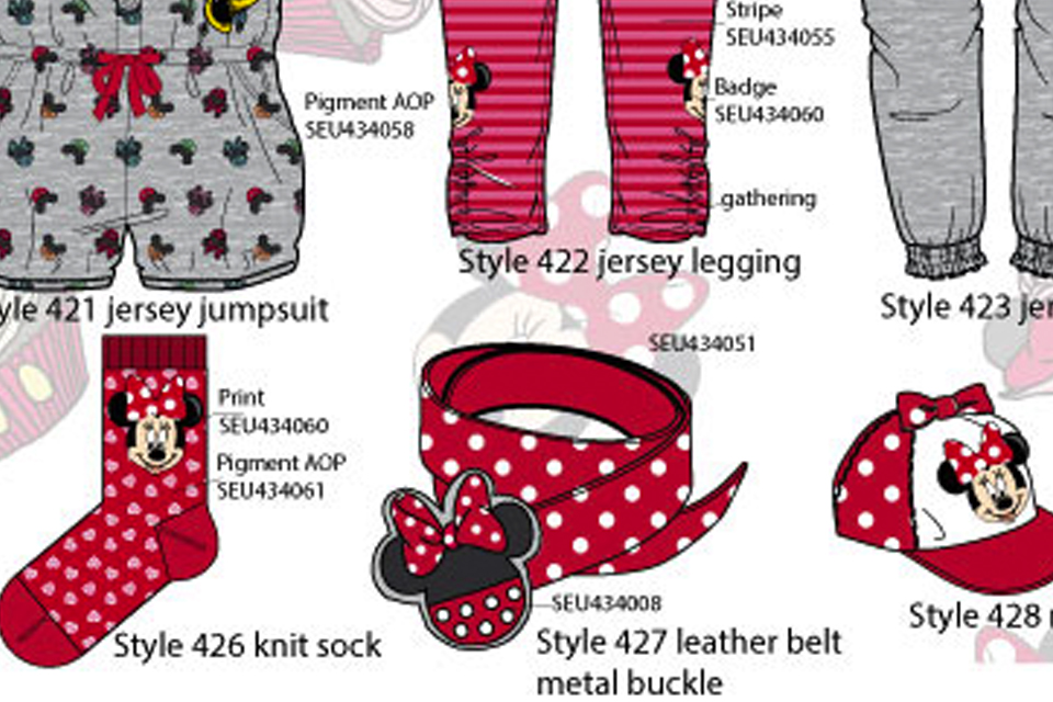 Minnie Mouse Disney Girls collection