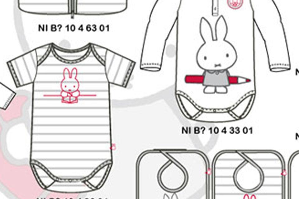 Nijntje/Miffy  babywear.